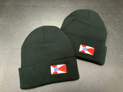 Wichita Flag Beanie - Adult