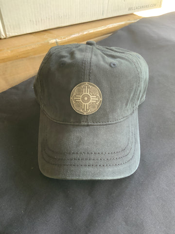 Custom - Engraved Leather - Wichita Medallion Patch - District - Thick Stitch Cap