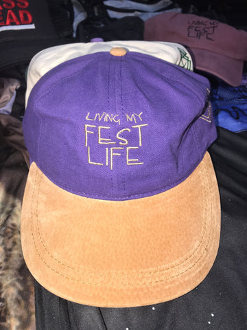 Living my FEST life hats - Adjustable