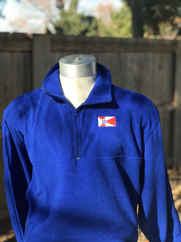 Embroidered - Wichita Flag Quarter Zip Fleece **LIMITED STOCK**