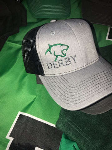 Derby Panthers Mesh Back Structured Hat