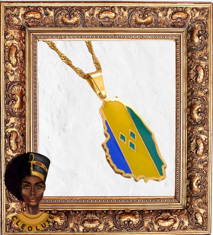 ISLAND GYAL Gold Necklace