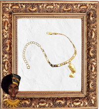 Load image into Gallery viewer, QUEEN LUXE Gold Anklet