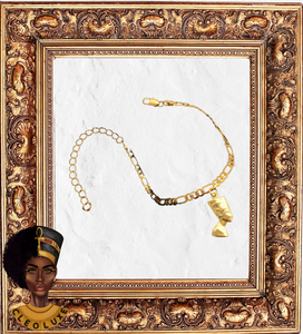 QUEEN LUXE Gold Anklet