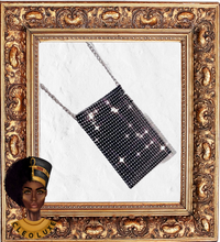 Load image into Gallery viewer, WILD SIDE Diamanté Phone Pouch