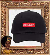Load image into Gallery viewer, BLESSED Adjustable Cap