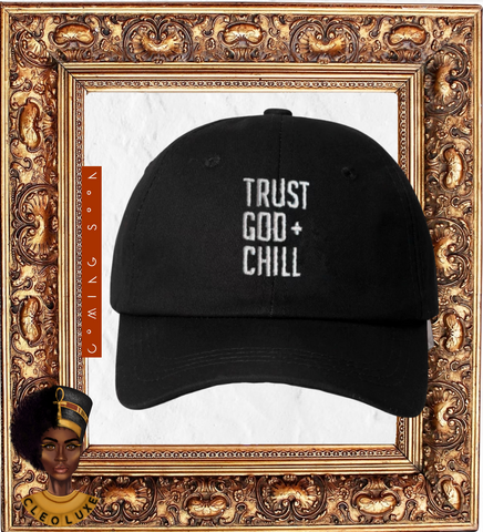 TRUST AND CHILL Adjustable Cap