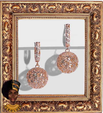 AUDACITY Gold Drop Earrings