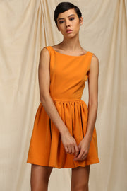 Tangerine dress (Mini length)