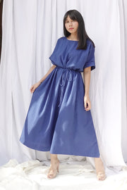 Juniper Jumpsuit (Free Size) (Blue)
