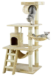 Go Pet Club 62-Inch Cat Tree