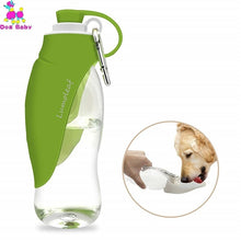 Load image into Gallery viewer, Dog Water Bottle for Walking, Portable with Drinking Cup Bowl Outdoor Hiking, Travel