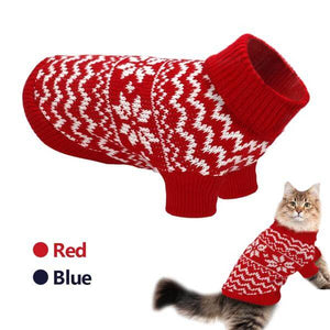 Pet Cat Puppy Sweater Winter