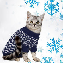 Load image into Gallery viewer, Pet Cat Puppy Sweater Winter