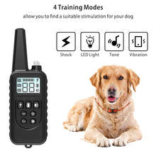 Load image into Gallery viewer, Electric Dog Training Collar Pet Remote Control  Rechargeable with LCD Display