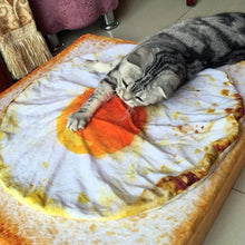 Load image into Gallery viewer, Cute Omelette pet Blankets