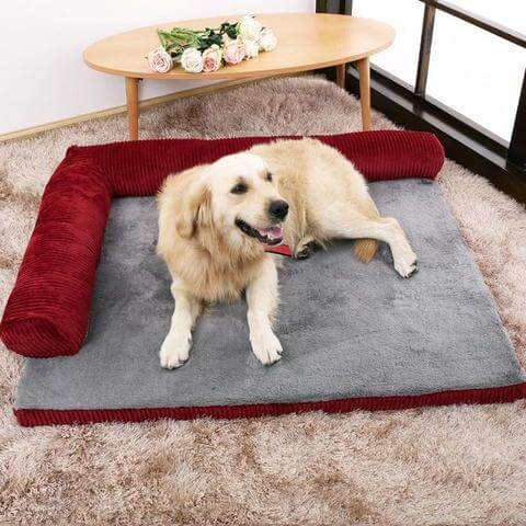 Large Dog Kennel   Comfortable Pillow Bed