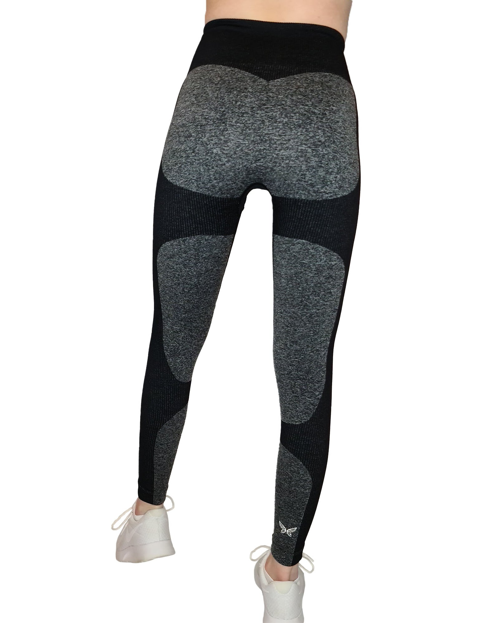 EVIE BLACK SEAMLESS GYM LEGGINGS-ARTEMIS CLASSIC COLLECTION