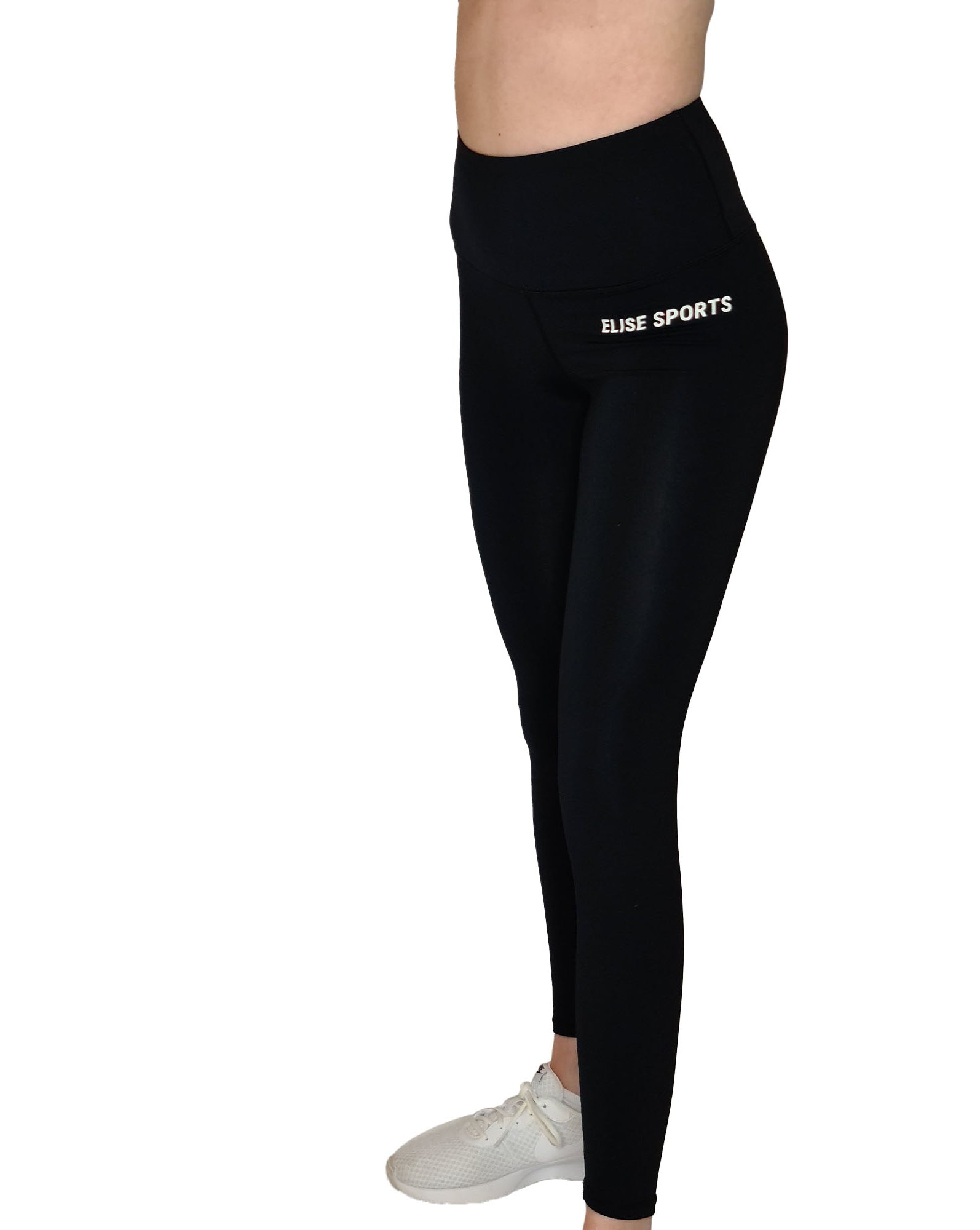 LARA HIGH WAIST BLACK  LEGGINGS-ARTEMIS CLASSIC COLLECTION