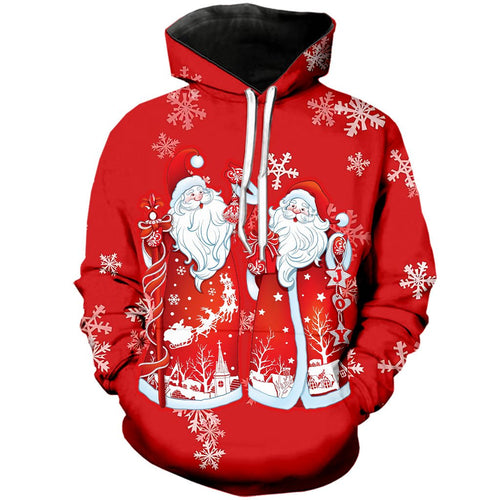 Christmas hoodies, 5 styles to choose from