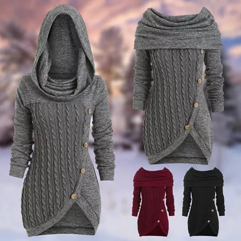 Creed - Stunning Hoodie Dress (Plus Size)