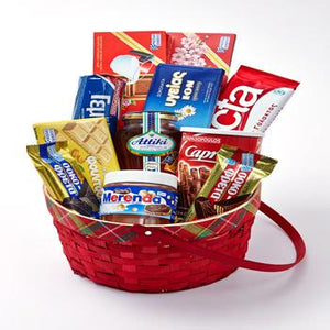 Greek gift  baskets, Mediterranean gift basket