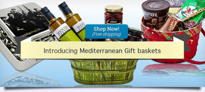 Mediterranean Gift baskets, Greek gift baskets