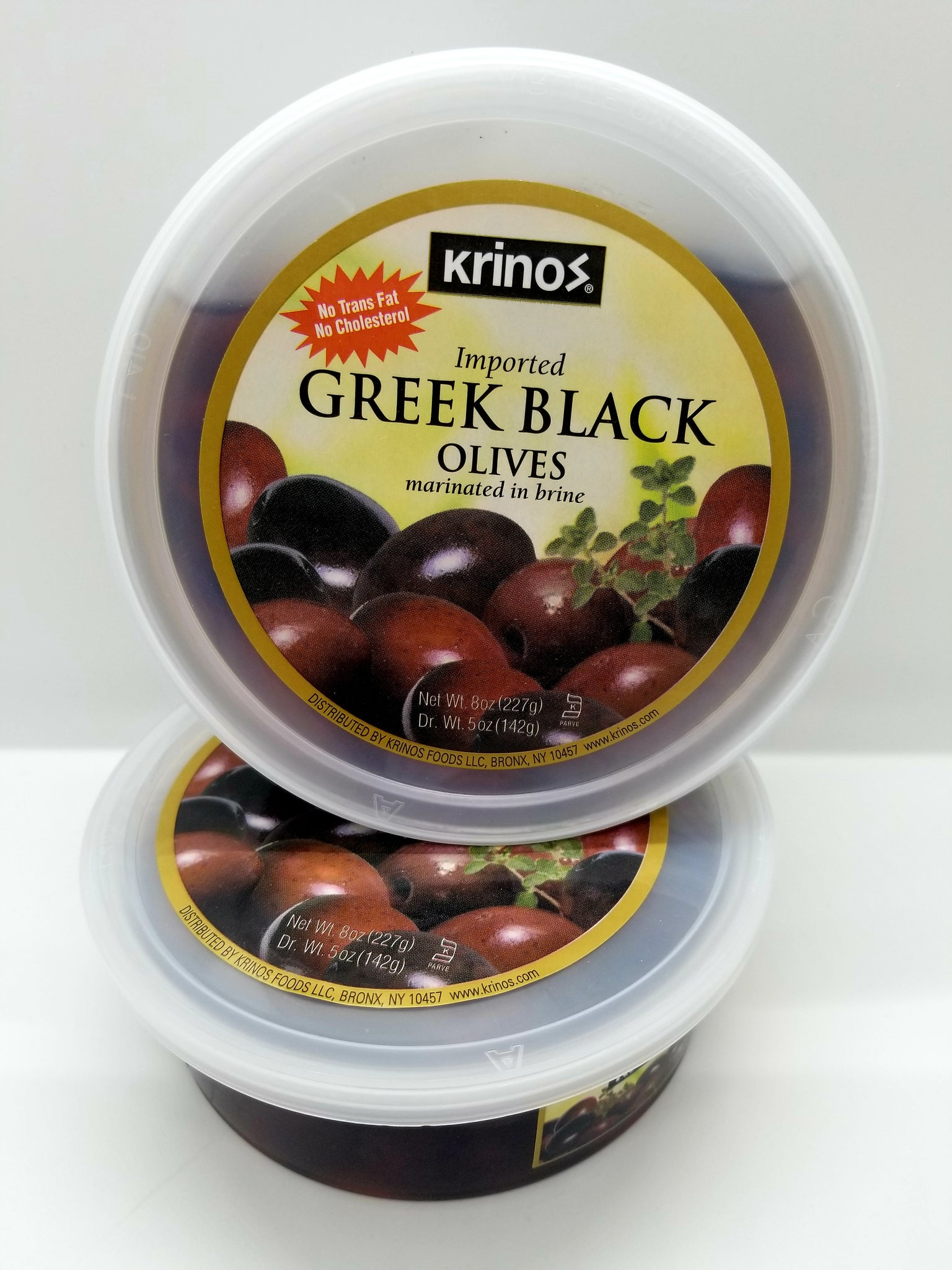 Krinos Greek Black Olives