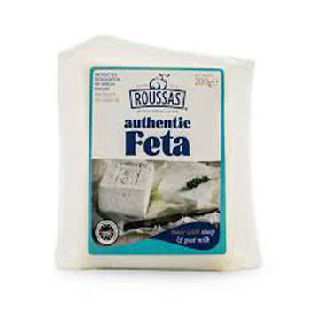Roussas Feta Portion Vac.pack 7oz - pack of 6