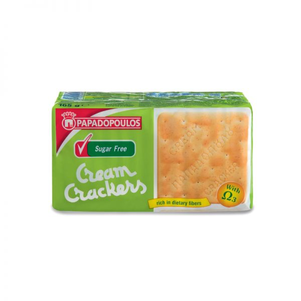 Cream Crackers Sugar Free