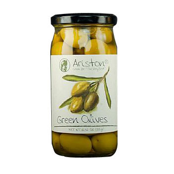 Ariston Green Olives 12.67 oz