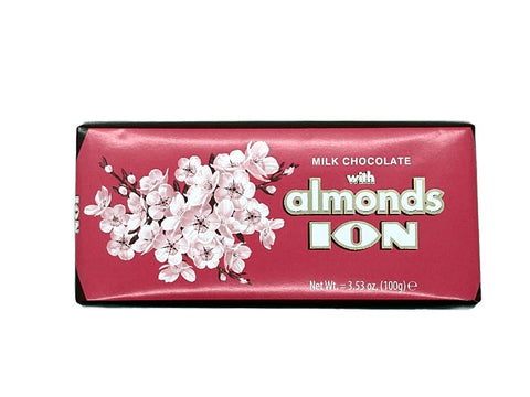 ION chocolate with almonds 100gr.