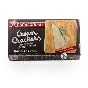 CREAM CRACKERS with rye