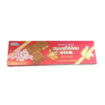 ION chocolate with almonds 200gr