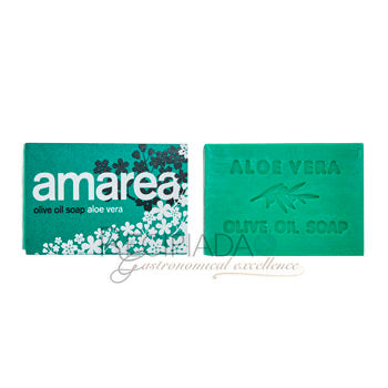 Amarea Olive Oil Soap Aloe Vera (Pack of 3)