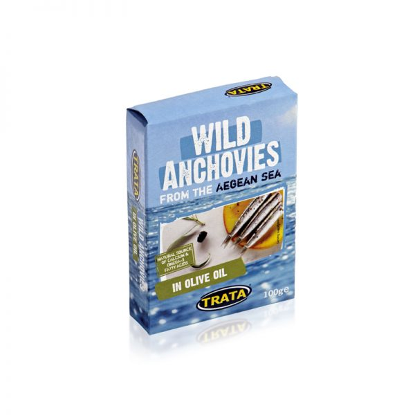 Trata Anchovies in Olive Oil 3.5oz