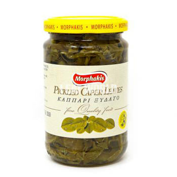 Morphakis Pickled Caper Leaves 9.5 oz