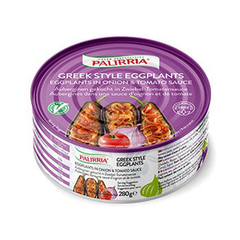 Palirria Eggplants in Tomato Sauce 10oz