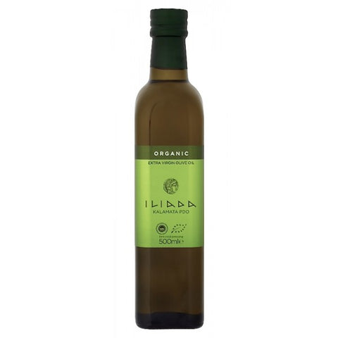 Iliada Organic Extra Virgin Olive Oil 500ml