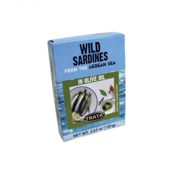 Trata Sardines in Olive oil 3.5oz