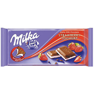 Milka Strawberry Yogurt 3.5oz