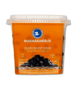 Marmarabirlik Whole Black Olives 1 lbs
