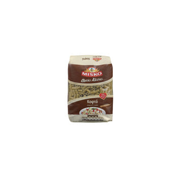 Misko Short Pasta Whole Wheat 1lbs  (kofto)