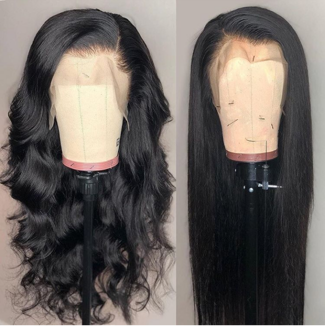 13*4/6 Brazilian Straight Lace Front Wig W/ Baby Hair