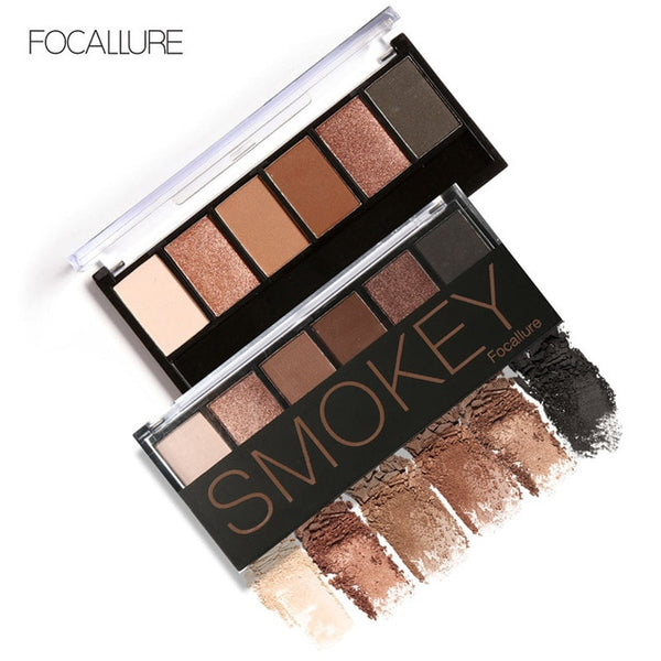 6 Colors Eye shadow Palette