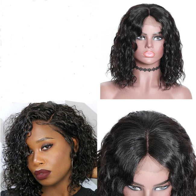 13x4 Short Lace Front Water Wave Bob