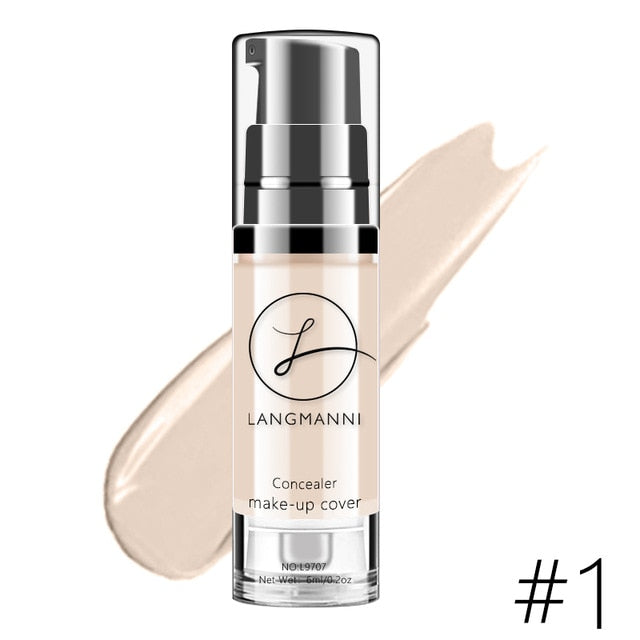 Full Coverage Waterproof Color Changing Soft Matte Liquid Foundation