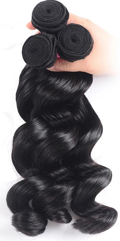 Brazilian Loose Wave Hair Extension 3PCS