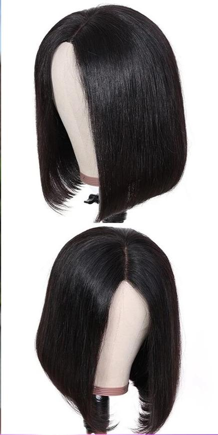 13*4/6 Lace Front Straight Short Blunt Cut Bob