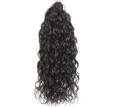 Brazilian Water Wave 1Pcs Remy Hair Machine Double Weft